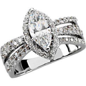 Jewelry - 2.26 ct.Marquise round diamonds engagement ring